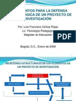 5.Fundamentos Para Defensa Epistemológica de Un Proyecto de Investigación 2009 i