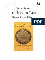 The Inner Life - Quotes by Hazrat Inayat Khan