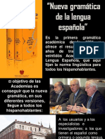 Nueva Gramatica de La Lengua Española