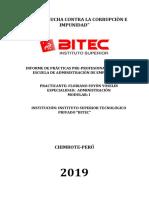 Informe de Practicas Floriano Suyòn Yoselin