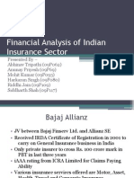 Analysis of Insurance Sector in India