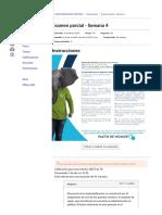 Examen Parcial - Semana 4 teoria de Las Organizaciones
