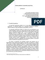 Positivismo Juridico y Filosofia Analiti