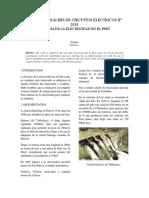 HIistoria de La Electricidad en El Perú