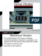 Mechanical Vibration Notes
