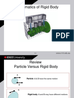 Planar Kinematics of Rigid Body Notes