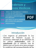 Trabajo Practico Transito Parabrisas y Adhesivos Vinilicos