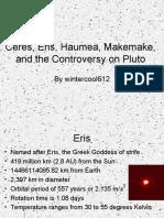 Ceres, Eris, Haumea, Makemake