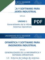 1.5Entorno de Trabajo de Sistemas Operativos de Libre Distribución y Propietarios