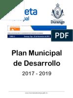 11_ Plan Municipal de Desarrollo Dgo 2017-2019.pdf