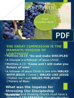 Disciplers Requirements and Guidelines