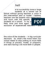 In a Nutshell - Exclusion of Teachers 1029