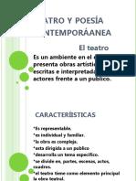 Teatro y Poesía Contemporáanea