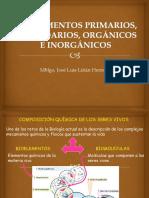 BIOELEMENTOS PRIMARIOS CLASE 1 - BIOLOGIA.pptx
