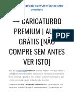 → Caricaturbo Download FREE | Caricaturbo PREMIUM funciona? [VEJA ISSO RÁPIDO]