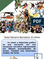 Texto Literario Narrativo El Comics