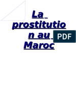 La Prostitution Au Maroc