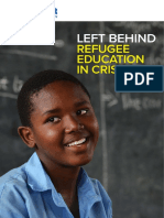 Report on Refugee Education