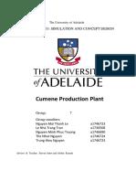 Cumene production plant report - group 7.pdf