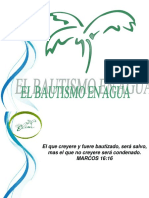 Bautismo en Agua