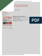 30ª Reunião Brasileira de Antropologia - Notícias - Anais 30ª RBA.pdf