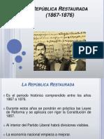 Gobierno de Juarez y Lerdo