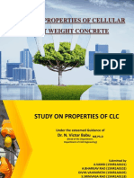 STUDY ON PROPERTIES OF CELLULAR LIGHT WEIGHT CONCRETE.pptx
