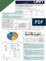 Poster proceso de inyección de plasticos