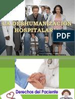 La Deshumanizacion Hospitalaria