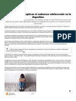 Las causas que explican el embarazo adolescente en la Argentina - Infobae.pdf