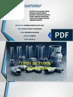 tipos de tubos mecanica aplicada 1.pptx
