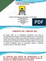 Tiristor SCR Funcionamiento
