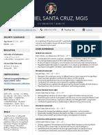 Resume - Nathaniel Santa Cruz