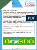 AC Exam PDF - IBPS Clerk 2019 by AffairsCloud.pdf