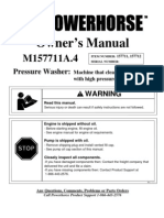 Pressure Washer Product Manual