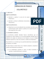 Calibracion Del Frasco