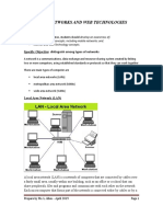 Computer Networks and Web Technologies