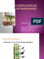 Clasificación de los dinosaurios.pptx