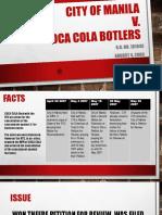 City of Manila v. Coca Cola