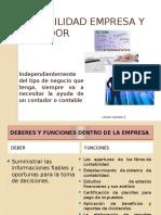 Contabilidad Empresa y Contador-