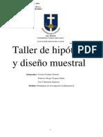 hipotesis y diseño muestral.docx