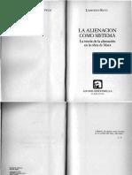 Ludovico Silva la alienacion como sistmea.pdf