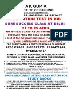 IOB & UBI Promotion TEST Material