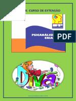eBook Curso de Extensão de Psicanálise com Criançs