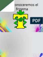 Hoy conoceremos el fonema T.pptx