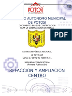ESPECIFICACIONES TECNICAS DE EDIFICIO