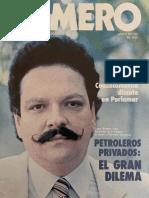 Revista Numero Año 6 Nro. 146 Abril 1983 - En portada Edgard Romero Nava