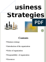Business Strategies presentation ppt