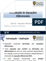 Aula 01 - Introdução às Equações Diferenciais.pdf