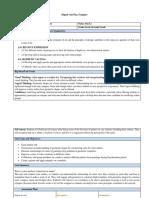 digital unit plan - color study